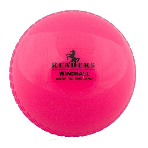Pink color 1 x Wind Cricket Soft Ball Training Coaching 5.5oz Senior Practice