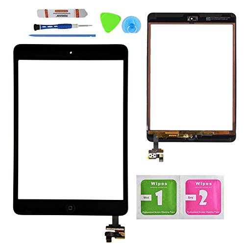 Monstleo Black Replacement Screen Touch Screen Digitizer For - Apple Ipad 2 Screen Repair