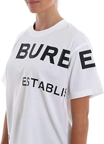 BURBERRY Fashion Womens 8017103 White T-Shirt | Autumn-Winter 19