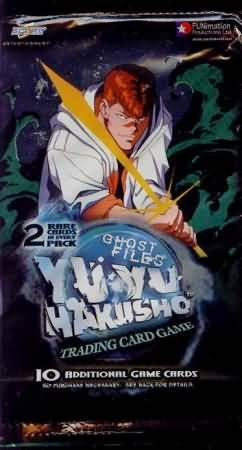 Yu Yu Hakusho Ghost Files 1st Edition Trading Card Pack Yu Yu Hakusho Trading Cards