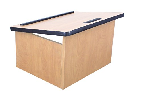 AmpliVox Folding Tabletop Lectern (Maple) by Amplivox