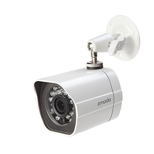 Zmodo 720P HD Outdoor IP sPOE Network Camera - White