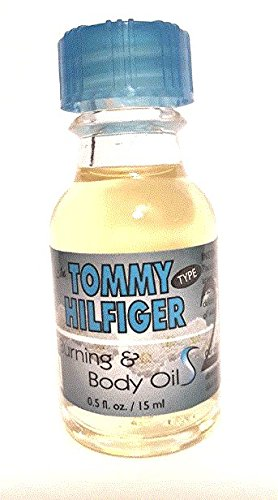 Pure Essential Tommy Hilfiger Oil Alcohol Free 0.5 FL.Oz/ 15ML Scent for Body & Oil - Burberry Trend