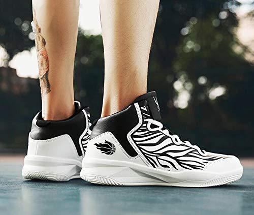 Basket Giovani Da Amanti 42 yanjing E Sneakers D Corsa He Pizzo Moda Nuovi Basket top b Autunno Studenti Inverno High Scarpe qZ7pt
