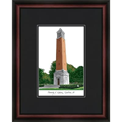 Image of Campus Images NCAA Alabama Crimson Tide Academic Framed Lithograph