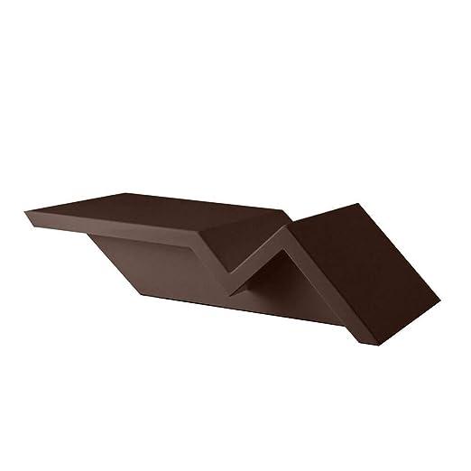 Vondom Rest mesa baja de exterior h.24 87x50 cm bronce: Amazon.es ...