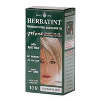 Amazon.com: Herbatint 10 N Permanente Herbal haircolor Color ...