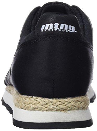 Mujer Vita Negro Negromesh Raso Zapatillas Negro para de Deporte MTNG 7PnXqvwv