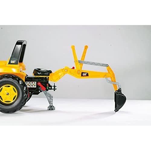 best rolly toys CAT Construction Pedal Tractor: Backhoe Loader