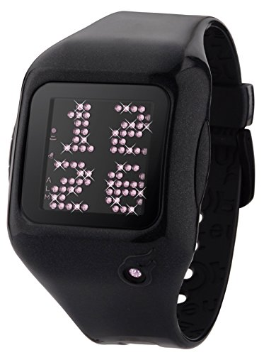 zerone-dazzled-animation-pink-crystal-with-black-case-scrolling-message-watch-2