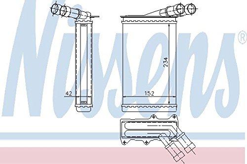Nissens 71156 Radiador de calefacció n