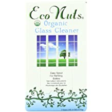 Eco Nuts Organic Glass Cleaner for Getting Rid of Streaks, Fingerprints, and Grime – 3 Liters
