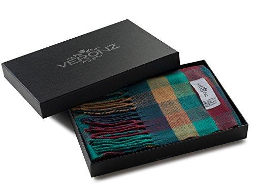Veronz Super Soft Luxurious Classic Cashmere Feel Winter Scarf (Multi Color Boxes)