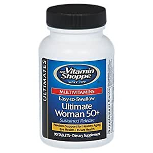 the Vitamin Shoppe Ultimate Woman 50+ Multivitamins 90 Tablets