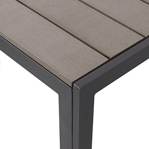 Elegant 7-Piece Garden Furniture Set - Aluminium / Polywood / Non ...