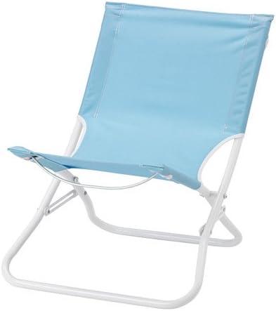 Sedie Pieghevoli Imbottite Ikea.Sedia A Sdraio Pieghevole Azzurro Ikea Amazon It Casa E Cucina