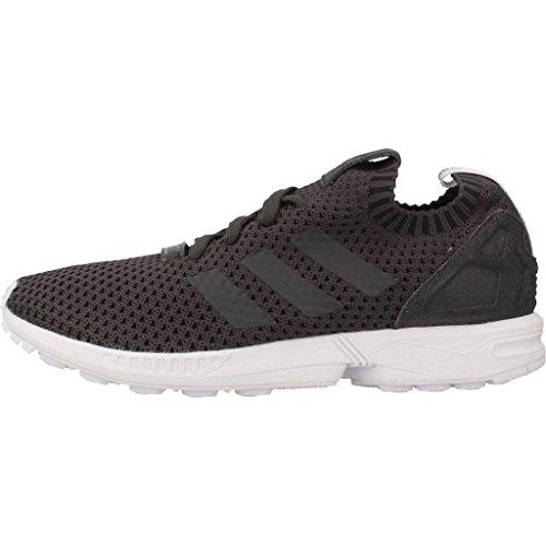 Primeknit ZX Grey Noir Solid Black PK adidas Flux qRwxFBxz