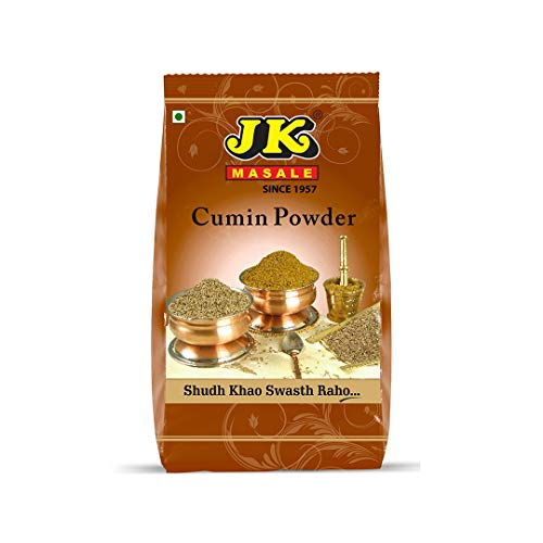 JK Indian Spices/Masala CUMIN POWDER (Jeera) - 17.64 oz / 500g, Non-GMO and NO preservatives! by JK