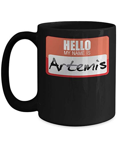My Name Is Artemis Greek Mythology Halloween Costume Greek God Ancient History Goddesses Greece Trick or Treat Gift Mug | Simple Halloween Costume Id ()