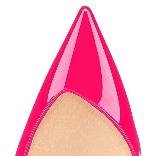 Slingback Ilta V Korkokengät Sandaalit Naisten Stiletto cut Umexi Juhlakengät Pumppuja Vaaleanpunainen Hääjuhlissa RWpwHt5n5