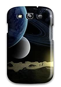 High Quality Shock Absorbing Case For Galaxy S3-space Art