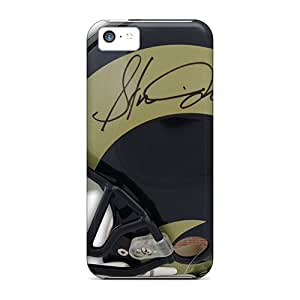 Protective Cell-phone Hard Covers For Iphone 5c (dci8643WWkW) Customized Beautiful St. Louis Rams Pictures