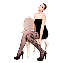 ICONOFLASH Women's Patterned Fishnet Stocking Tights