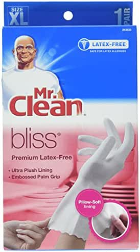 Disposable Gloves: Mr. Clean Bliss Premium Latex-Free Gloves