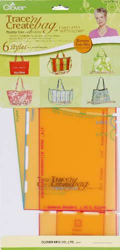 Nancy Zieman Bag - Clover Trace 'N Create Bag Templates With Nancy Zieman: Florida Collection