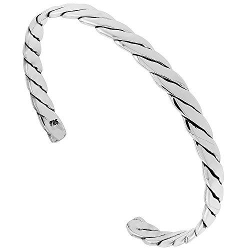 Sterling Silver Cuff Bracelet Handmade