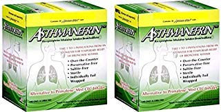 ASTHMANEFRIN for asthma relief 30 ct (Pack of 2) by Asthmanefrin