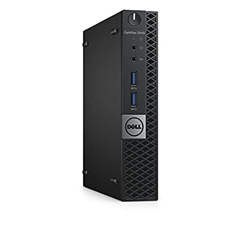 Dell 30PC5 OptiPlex 3040 MFF Micro Desktop (Intel Core i5-6500T, 8GB 1600MHz DDR3L RAM, 256GB SSD, Windows 10 Pro, (Dell Smart Card Reader)