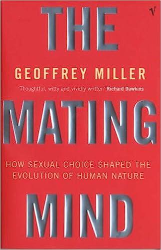 Geoffrey miller the mating mind