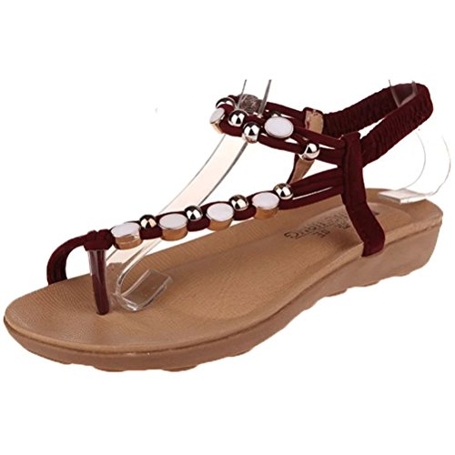 Donalworld Flicka Sommar Stranden Skor T Rem Flip Flop Wedge Sandal Pt1