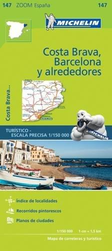 Costa Brava Collection (Michelin ZOOM MAP: Costa Brava, Barcelona y alrededores  (Michelin Zoom Maps))
