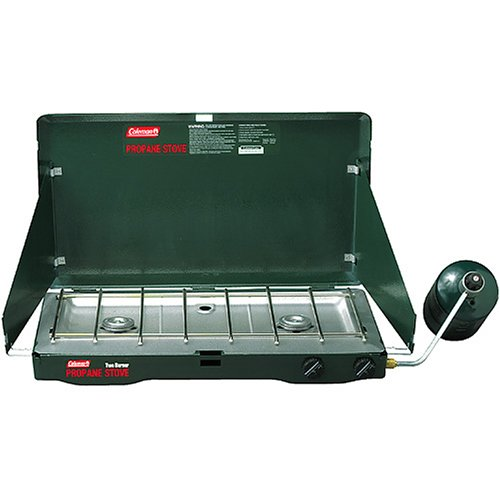 Coleman Two-Burner Propane Stove, Outdoor Stuffs