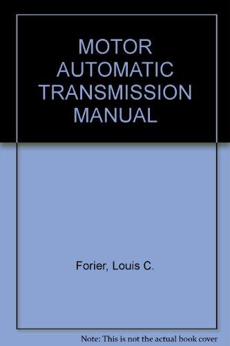 Motor Automatic Transmission Manual