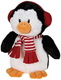 Grriggles Peppermint Penguin Pet Toy, Large