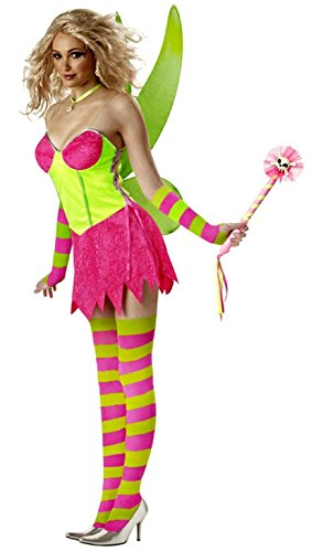 Tinkerbell Costume - Rebel Toons Adult Costume deluxe - Medium (Rebel Toons)