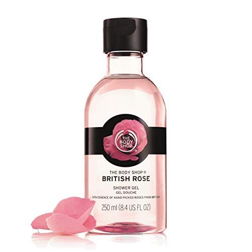 The Body Shop British Rose Petal Soft Shower Gel, 8.4 fl. oz. ()