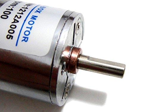 Tolako High Torque DC Motor kit 12V 300RPM DC Gear Motor Speed