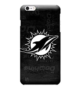 NFL-Miami Dolphins Skin Tough Phone Case Covers,Stylish Protective Covers Compatible For iphone 6(4.7) by ruishername