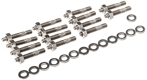 - ARP 4007604 Valve Cover Studs With Hex Nuts, Polished Stainless Steel, Package Of 14, For Select Cast Aluminum Covers