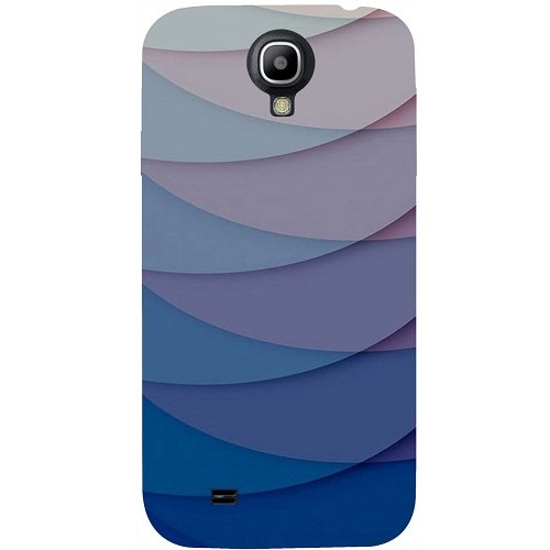 Casotec Waves Pattern Print Design Hard Back Case Cover for Samsung Galaxy S4 GT i9500