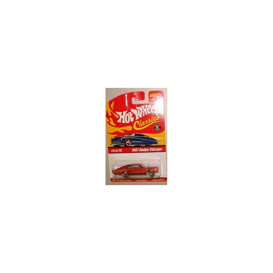 Hot Wheels Classic Series 1 1967 Dodge Charger #5 of 25