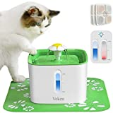 Veken Cat Water Fountain, 2.5L Automatic Pet