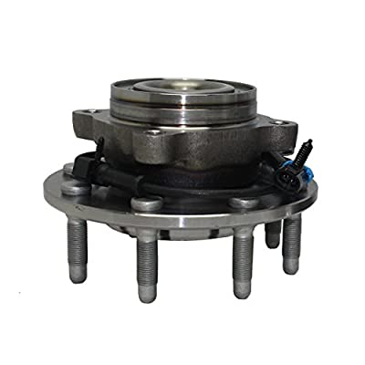 2WD Models Front Wheel Hub and Bearing Assembly Pair (2) Detroit Axle for Sierra Silverado Suburban Yukon XL RWD 8 Lug W/ABS (Pair) 515086 x2: Automotive