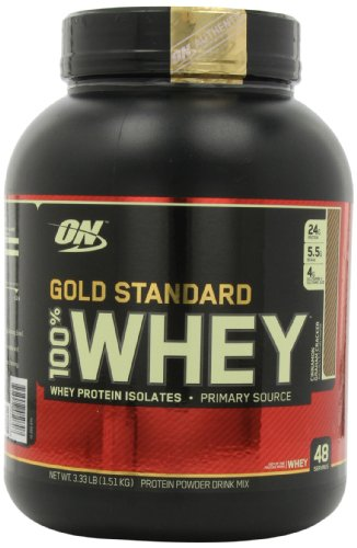 Optimum Nutrition Gold Standard 100% Whey Пищевая Напитки, корица Грэм Cracker, 3,33 фунта