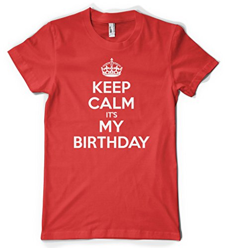 Cybertela Keep Calm It's My Birthday Women's T-shirt