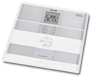 TANITA 【測定データをSDカードに自動記録 / パソコンへ転送可能 & グラフ表示も】 体組成計 インナースキャン50 パールホワイト BC-309-PR